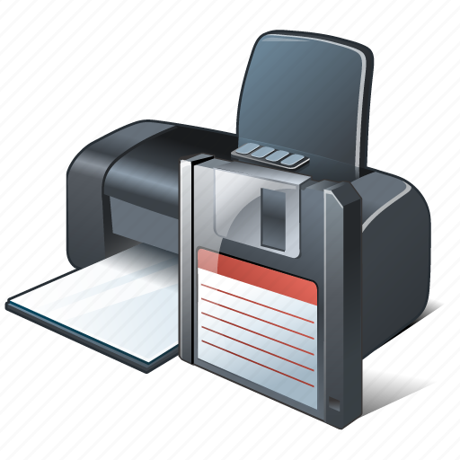 print, printer, save icon