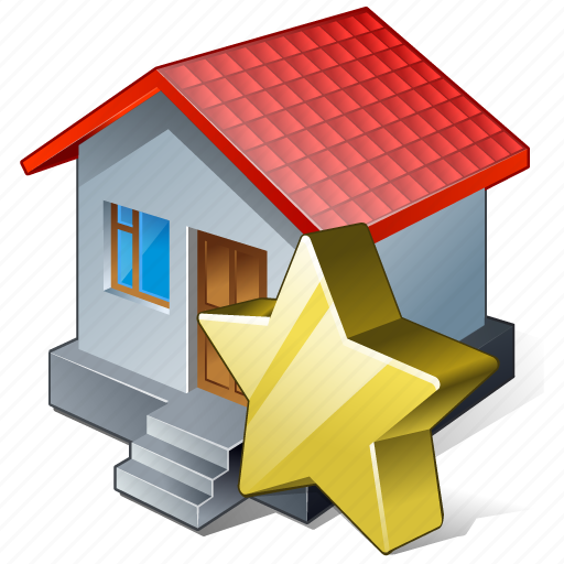 building, favorite, home, house icon
