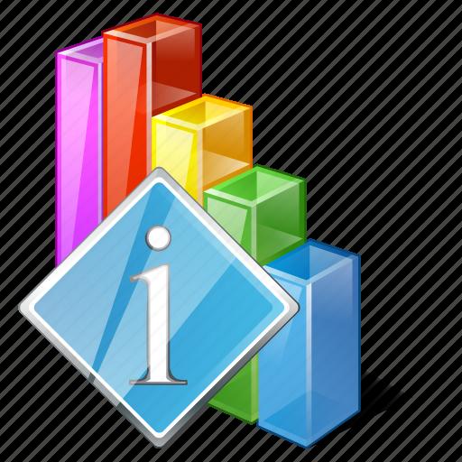 analytics, bar, chart, graph, info, statistics, stats icon