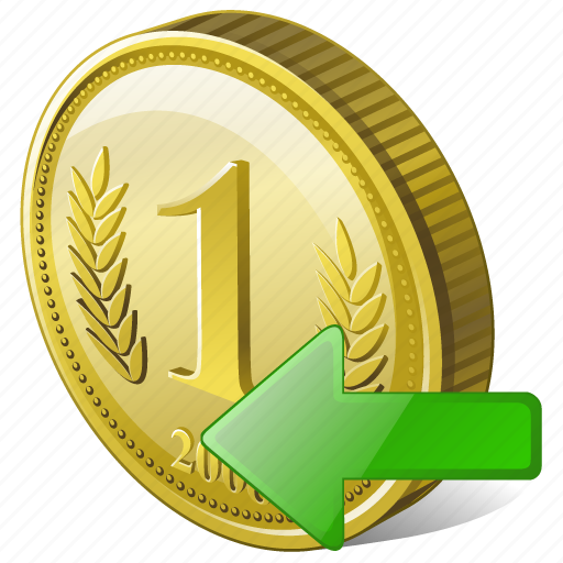 coin, import, money, payment icon