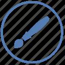 brush, draw, instrument, paint, round, tool, vk icon