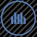 chart, data, function, report, round, statistics, vk icon