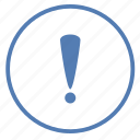 attention, danger, function, message, stop, vk, warning icon