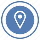 function, geo, location, pointer, round, select, vk icon
