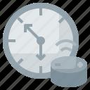 clock, dot, echo, time