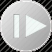 audio, grey, media, multimedia, music, voice icon