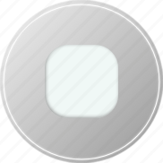 grey, media, multimedia, music, stop, voice icon
