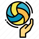 ball, exercise, gesture, hands