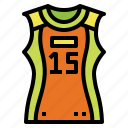 jersey, shirt, sports, volleyball