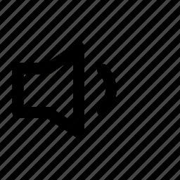 low, volume icon