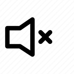 mute, no sound, no volume icon