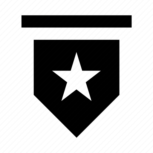 award shield, shield, star shield, success, victory icon
