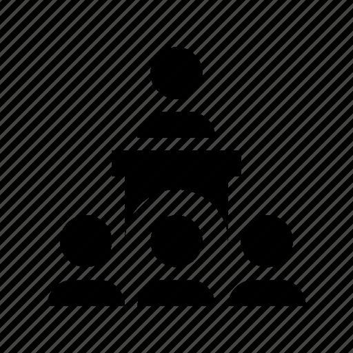 announcement, announcer, declaration, publication, statement icon