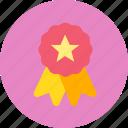 achievement, award, awards, decoration, medal, reward, winner icon