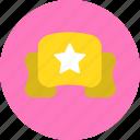 achievement, rank, rate, winner icon