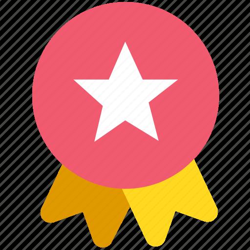 achievement, awards, badge, medal, winner icon