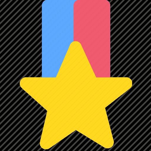 achievement, badge, medal, military, winner icon