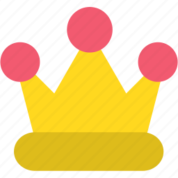 crown, king, leader, monarch, queen, royal, royalty icon