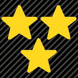 favorite, rating, stars icon