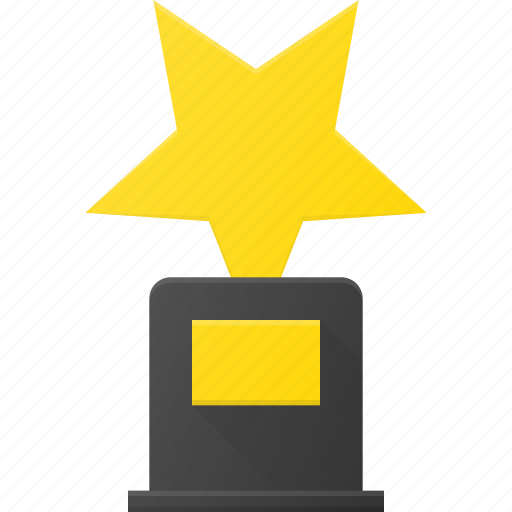 award, cup, first, reward, star, win icon