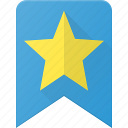 award, badge, bookmark, favorit, reward, star icon