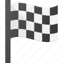 award, first, flag, race, reward, win icon