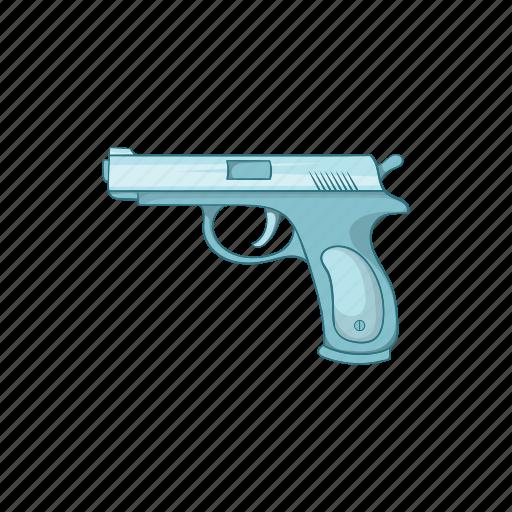 cartoon, gun, hunter, shotgun, sign, sport, weapon icon
