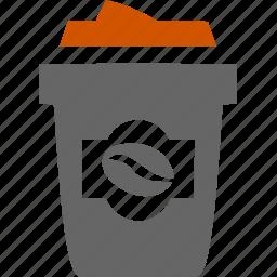 coffee, espresso, food, kitchen, meal, ware icon