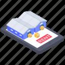 logistics app, online stockroom, online storehouse, online storeroom, online warehouse icon