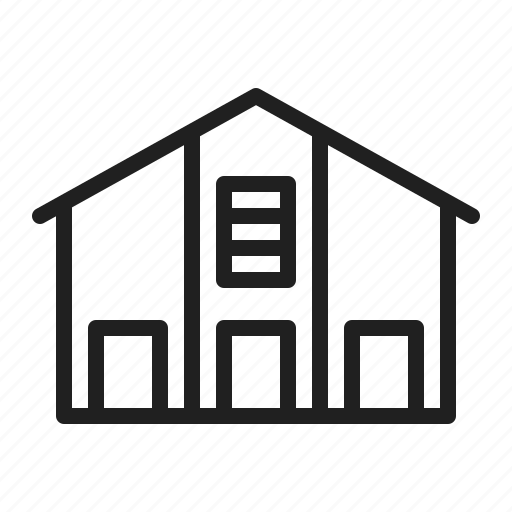 building, logistics, storage, storehouse, warehouse icon