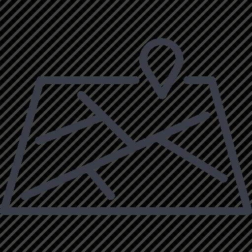 bar code, destination, direction, logistics, navigation, route, storage icon