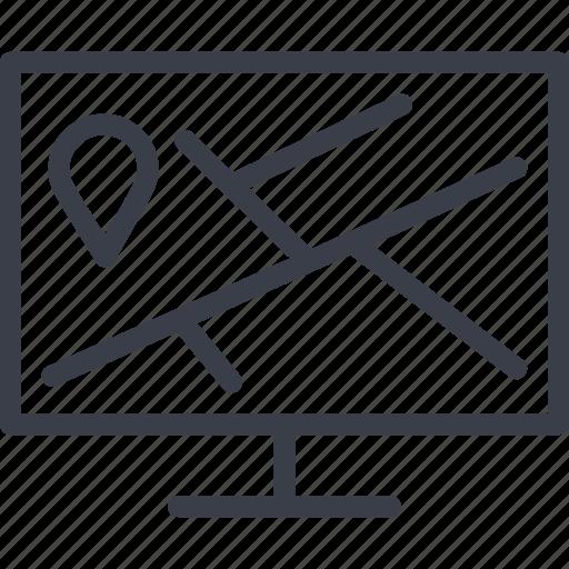 bar code, direction, load, logistics, navigation, route, storage icon