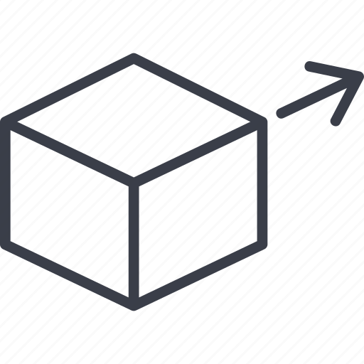 bar code, destination, direction, load, logistics, map, storage icon