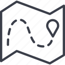 bar code, destination, load, logistics, map, navigation, route