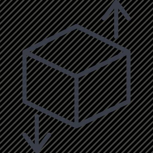 direction, load, logistics, map, navigation, route, storage icon