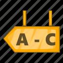 logistics, signboard, warehouse icon
