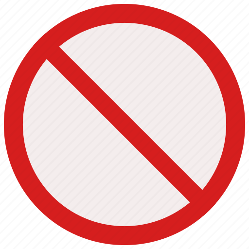 prohibited, sign, signs, stop, warning icon