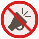honking, no, prohibited, signs, warning icon