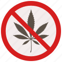 allowed, marijuana, no, prohibited, signs, warning icon