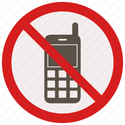 calls, mobile, no, phone, prohibited, signs, warning icon