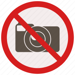 no, photography, prohibited, signs, warning icon