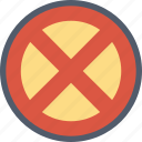 prohibited, cross, forbidden, no, restricted, sign, stop