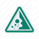 alert, avalanche, sign, signs, warning icon