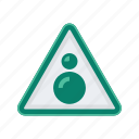 alert, circle, sign, signs, warning icon