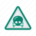 alert, danger, lethal, poison, sign, signs, warning icon