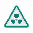 alert, danger, radiation, sign, signs, warning