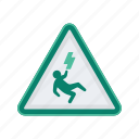 alert, electricity, electricution, sign, signs, warning icon