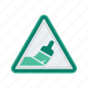 alert, paint, sign, signs, warning icon