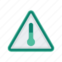 alert, sign, signs, temperature, warning icon