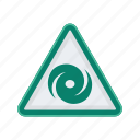 alert, sign, signs, tornado, warning icon
